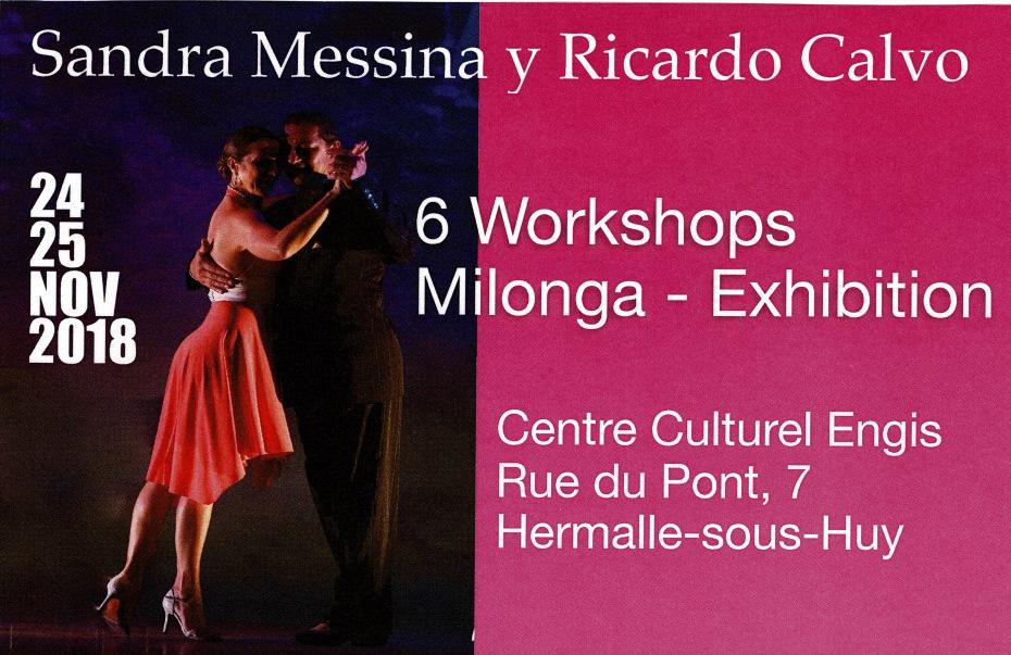 Sandra et Ricardo Stage 24 et 25_11_18